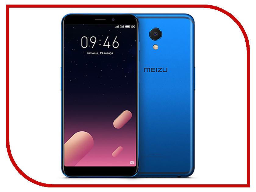 Сотовый телефон Meizu M6S 32Gb Blue сотовый телефон сотовый телефон meizu m6 note 3 32gb blue