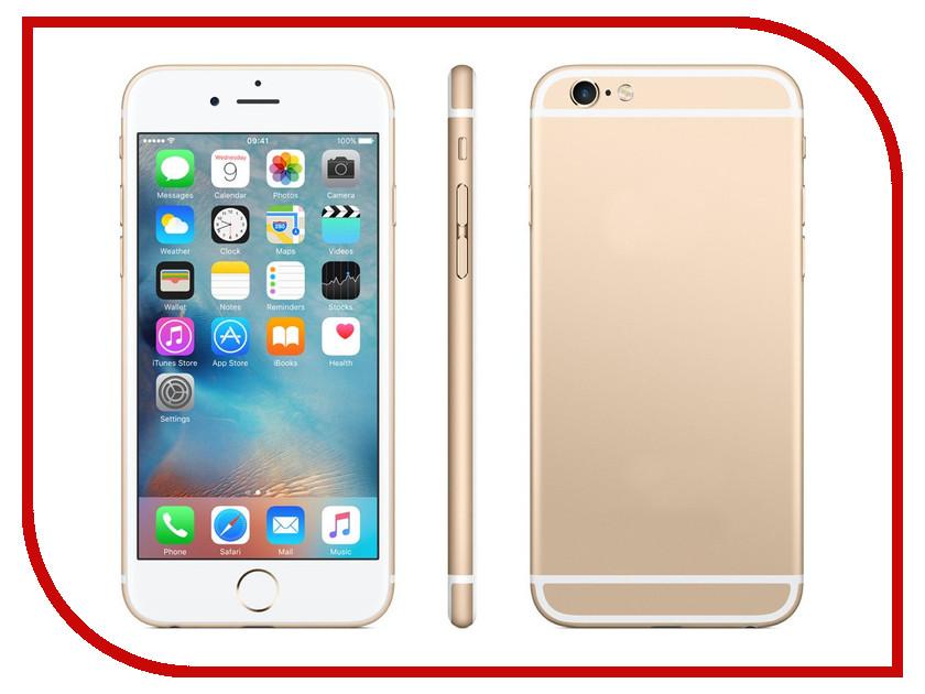 Сотовый телефон APPLE iPhone 6S Plus - 16Gb Gold FKU32RU/A восстановленный apple apple iphone 6s plus 32gb gold