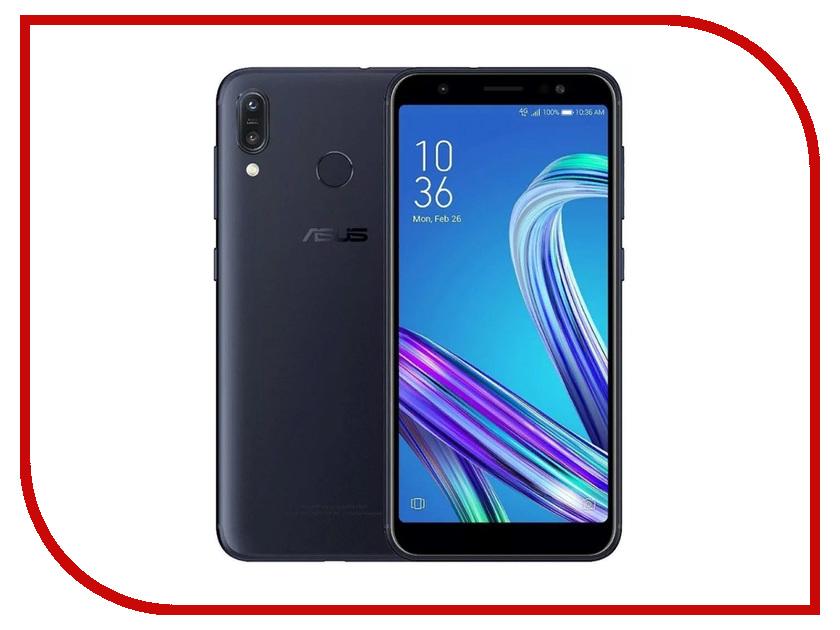 Сотовый телефон ASUS ZenFone Max Pro (M1) ZB602KL 128Gb Black сотовый телефон asus zenfone max pro m1 zb602kl 3 32gb blue