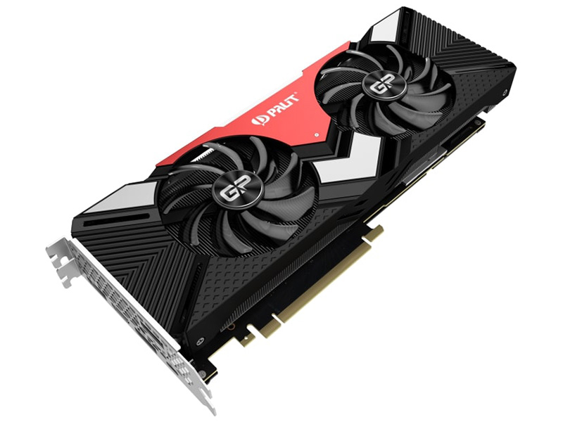 Видеокарта Palit GeForce RTX 2080 Gaming Pro OC 1515Mhz PCI-E 3.0 8192Mb 14000Mhz 256 bit HDMI 3xDP NE62080S20P2-180A