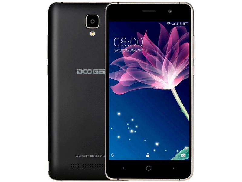 Сотовый телефон Doogee X10S Black