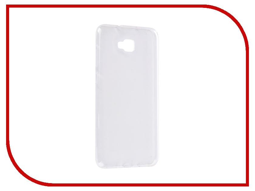 Аксессуар Чехол для ASUS ZenFon 4 Selfi ZD553KL Svekla Silicone Transparent SV-ASZD553KL-WH аксессуар чехол lg k8 2017 gecko transparent glossy white s g lgk8 2017 wh
