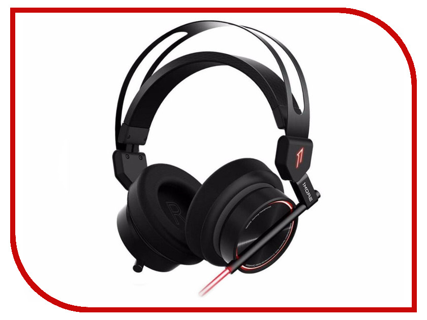 1MORE Spearhead VRX H1006 Black sades sa 808 usb gaming headphones headset black red 210cm cable