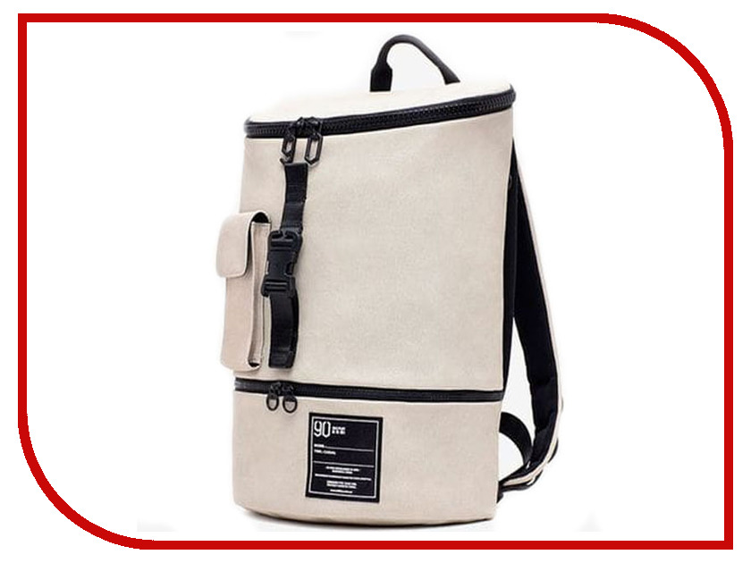 Рюкзак Xiaomi 90 Points Chic Leisure Backpack Female White