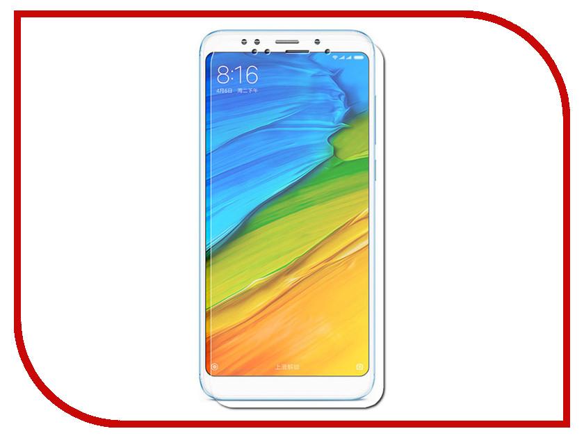 Аксессуар Защитное стекло для Xiaomi Redmi 5 Plus Krutoff TPU Transparent 91067 аксессуар чехол накладка для xiaomi redmi 4x krutoff tpu transparent 11971