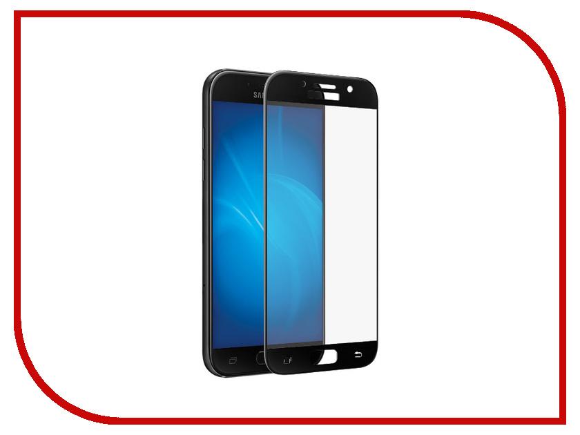 Аксессуар Защитное стекло для Samsung Galaxy A5 2017 SM-A520F Krutoff Full Screen Black 02546 планшет samsung galaxy tab a sm t350 sm t350nzkaser