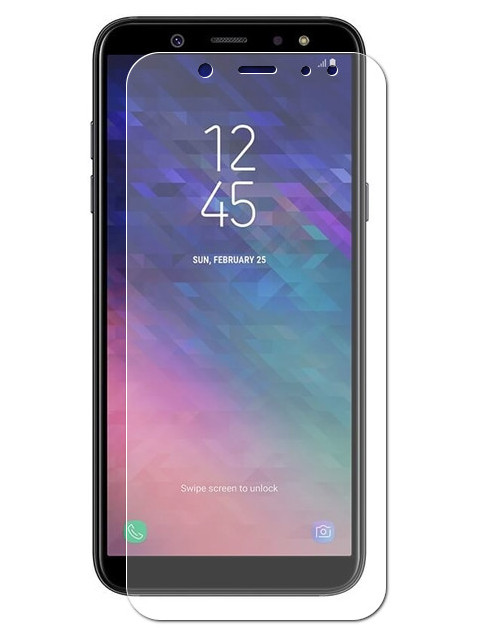 Аксессуар Защитное стекло Krutoff для Samsung Galaxy A6 Plus 2018 SM-A605F 22146 аксессуар защитное стекло krutoff full glue для samsung galaxy j6 plus sm j610 black 02821