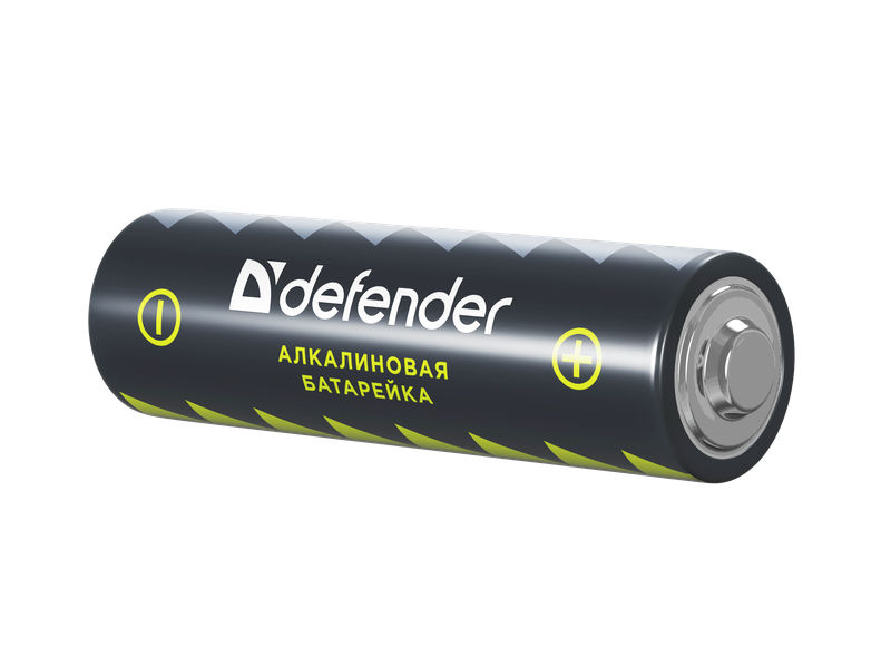 Батарейка AA - Defender Alkaline LR6-2B (2 штуки) 56013