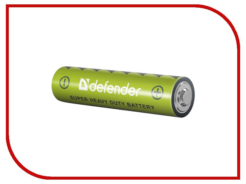 Батарейка AAA - Defender R03-4F (4 штуки) 56101 батарейка aaa camelion blue r03 r03p bp4b 4 штуки