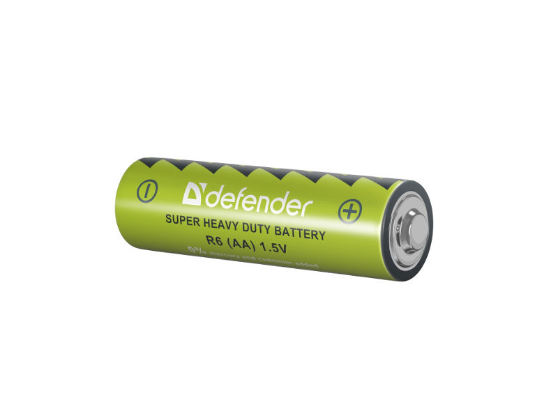 Батарейка AA - Defender R6-4F (4 штуки) 56111
