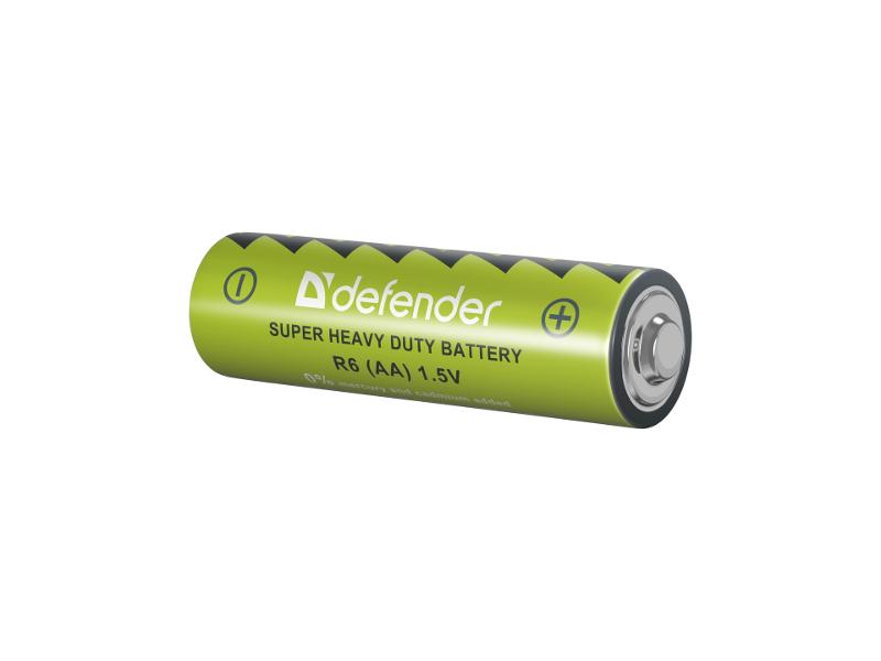 Батарейка AA - Defender R6-4B (4 штуки) 56112