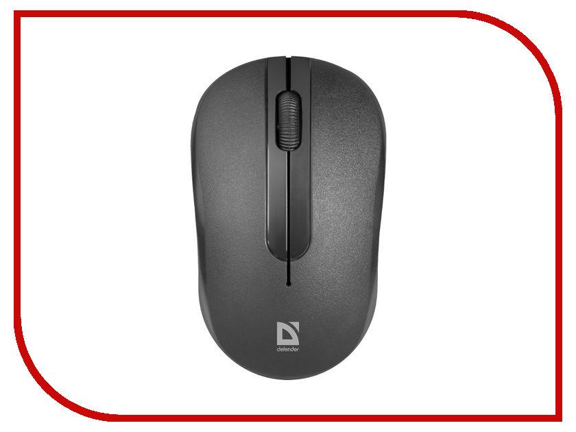 Мышь Defender Datum MM-285 Black 52285 цена и фото
