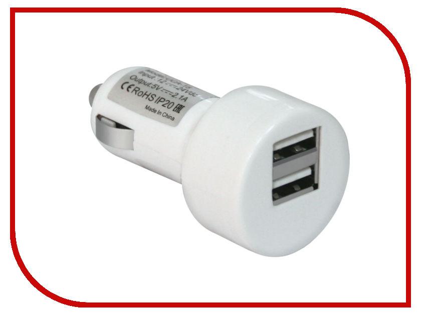 Зарядное устройство Defender UCA-15 2xUSB 83562 автомобильное зарядное устройство defender uca 15 2 порта usb 83562