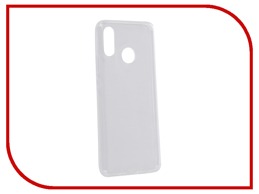 Аксессуар Чехол для Huawei Nova 3 2018 Zibelino Ultra Thin Case Transparent ZUTC-HUA-NOVA3-WHT moskii brand ultra thin pc shield case cover for huawei mate7