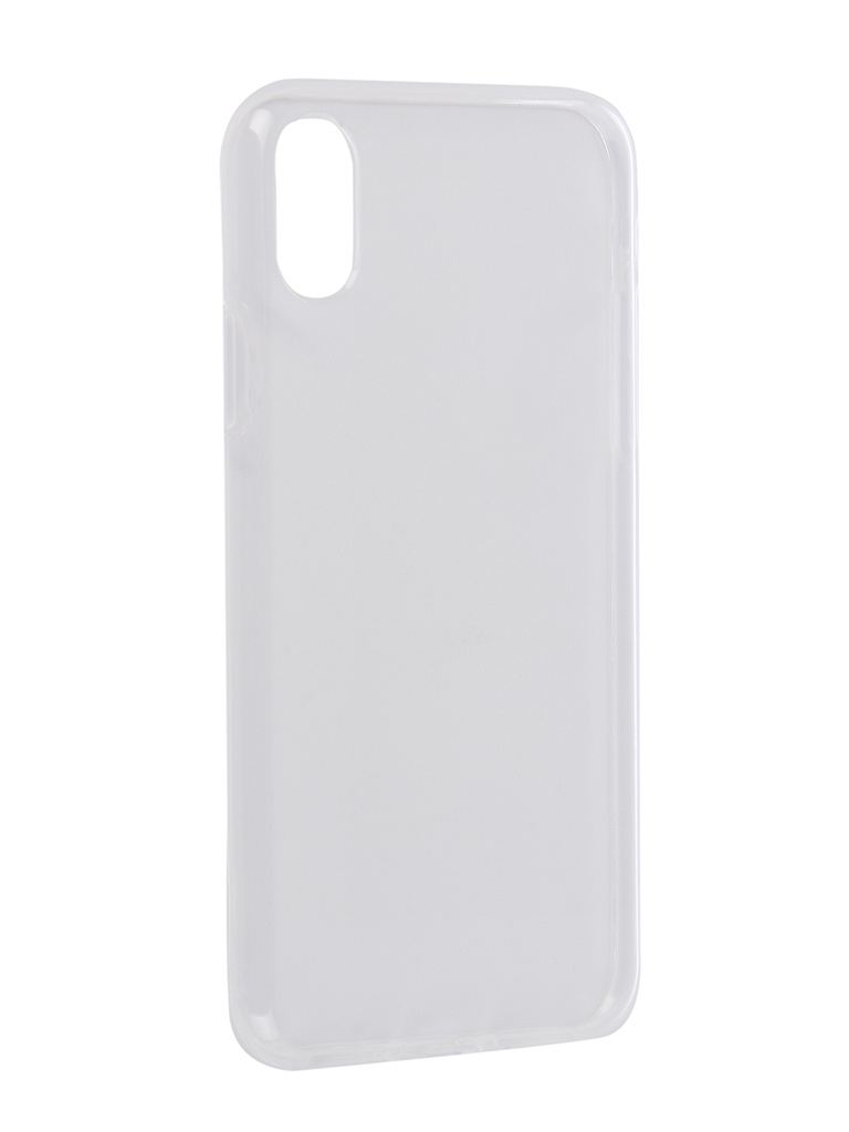 Чехол Zibelino для APPLE iPhone XS/X Ultra Thin Case Transparent ZUTC-APL-XS-WHT