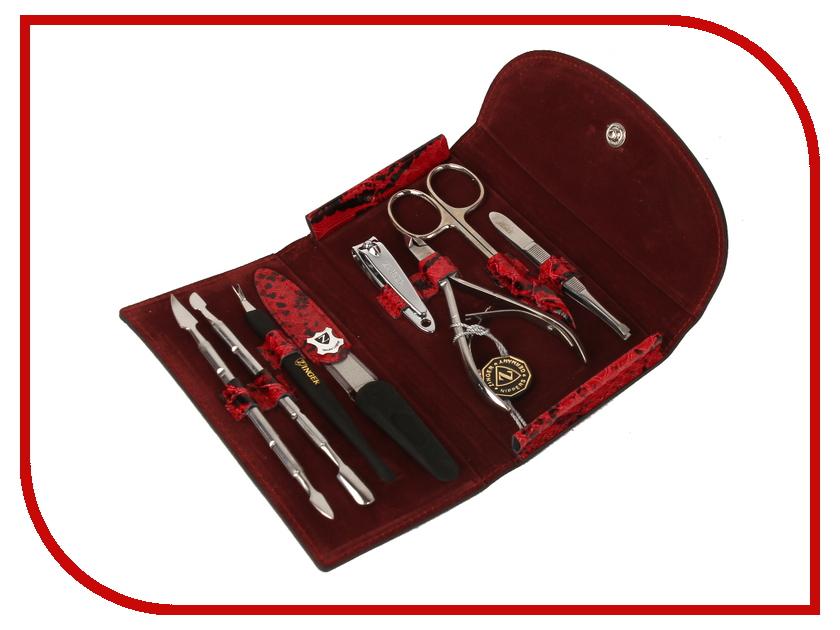 Аксессуар Маникюрный набор Zinger MS-1402-1S маникюрный набор 7 предметов zinger ms fc201 s бордовый