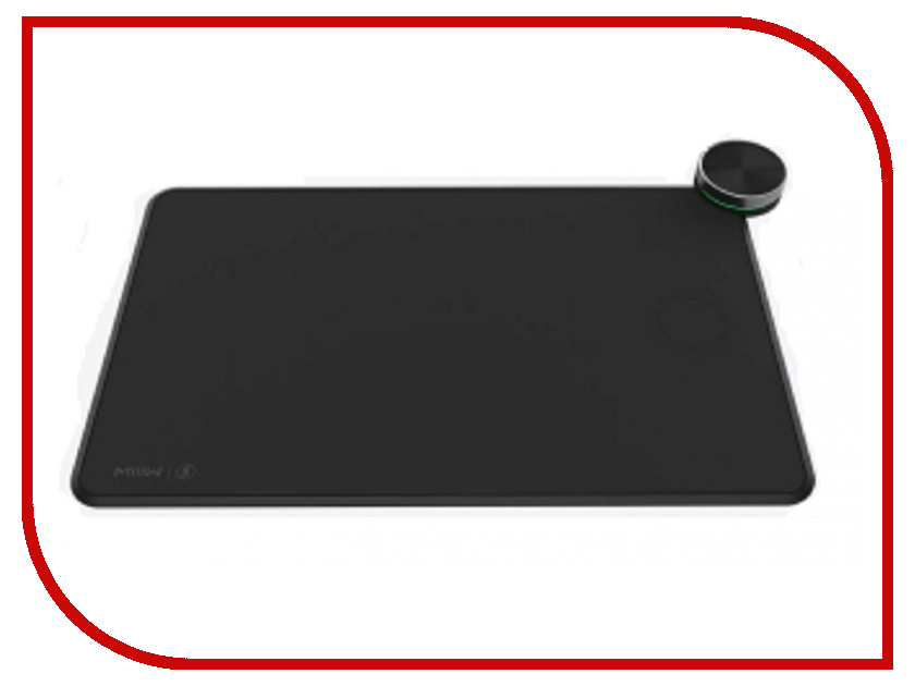 Коврик Xiaomi Smart Qi Wireless Charging Mouse Pad MWSP01 Black