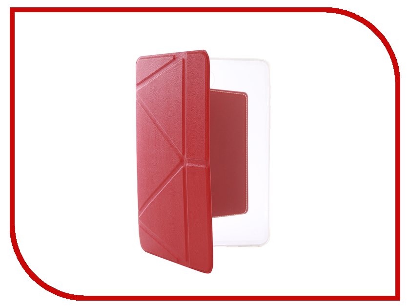 Аксессуар Чехол для Samsung Galaxy Tab S2 8.0 T 715 / 719 Gurdini Lights Series Red чехол для samsung galaxy s2 printio s t a l k e r