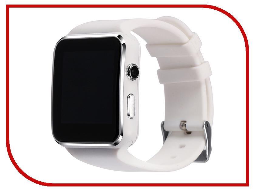 Умные часы ZDK X6 White slit sleeve asymmetrical plain chiffon dress