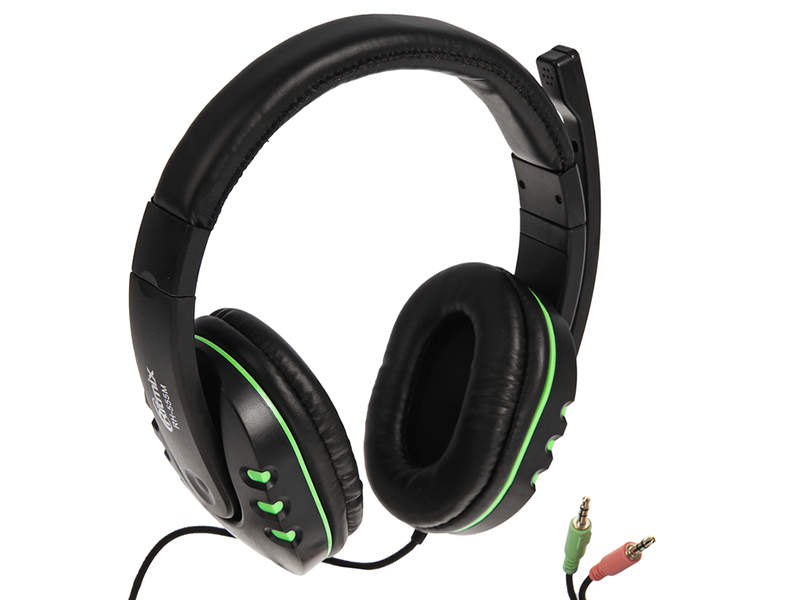 Ritmix RH-555M Gaming Black-Green цена и фото