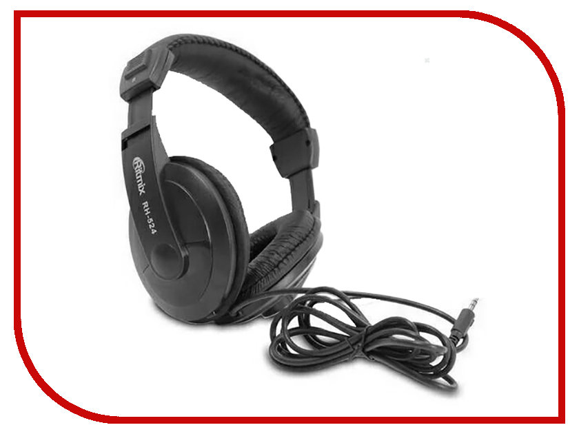 Ritmix RH-524 Black гарнитура ritmix rh 515m черный