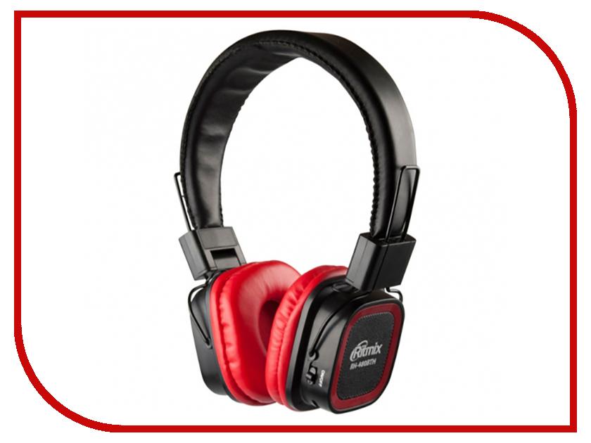 Ritmix RH-480BTH Red гарнитура ritmix rh 515m черный