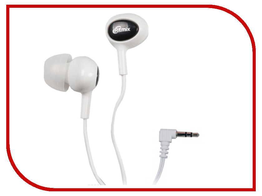 Ritmix RH-022 White-Black ritmix rh 011 white