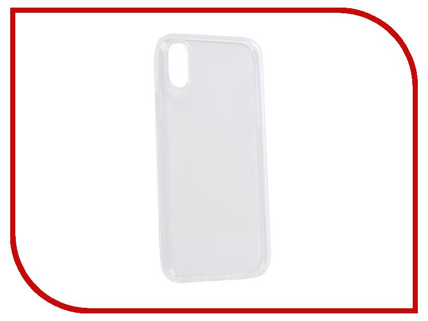 Аксессуар Чехол для APPLE iPhone XR iBox Crystal Silicone Transparent УТ000016102 аксессуар чехол microsoft lumia 550 ibox crystal transparent