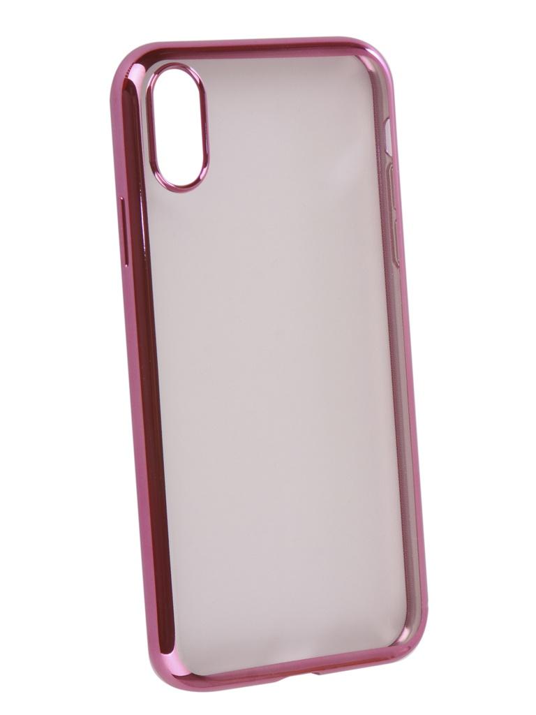 Аксессуар Чехол iBox для APPLE iPhone XR Blaze Silicone Pink frame УТ000016113 аксессуар чехол ibox blaze silicone для apple iphone xr silver frame ут000016110 page 5 page 9