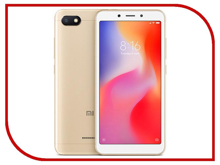 Сотовый телефон Xiaomi Redmi 6A 2/32GB Gold смартфон xiaomi redmi 6a 2 32gb gold
