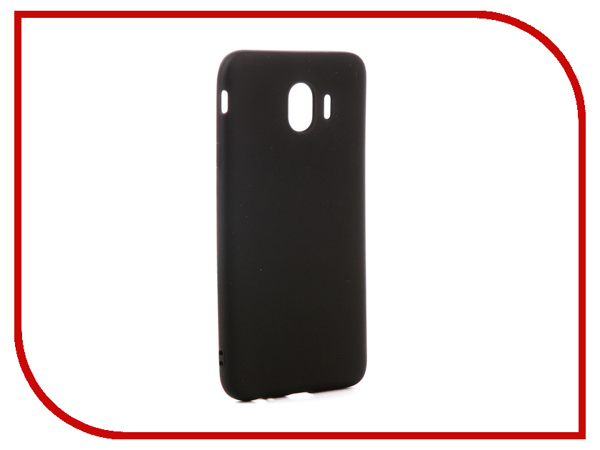 Аксессуар Чехол для Samsung Galaxy J4 2018 Red Line Ultimate Black УТ000015511 аксессуар чехол для samsung galaxy a6 plus 2018 red line ultimate black ут000015510