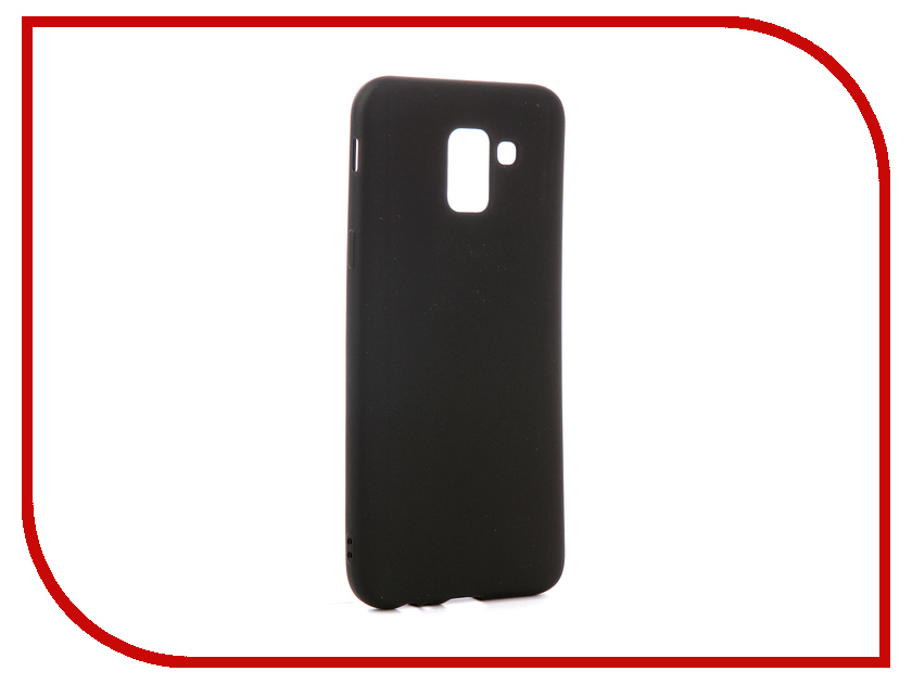 Аксессуар Чехол для Samsung Galaxy J6 2018 Red Line Ultimate Black УТ000015512 аксессуар чехол для samsung sm j330 galaxy j3 2017 activ the ultimate experience leather red 75635