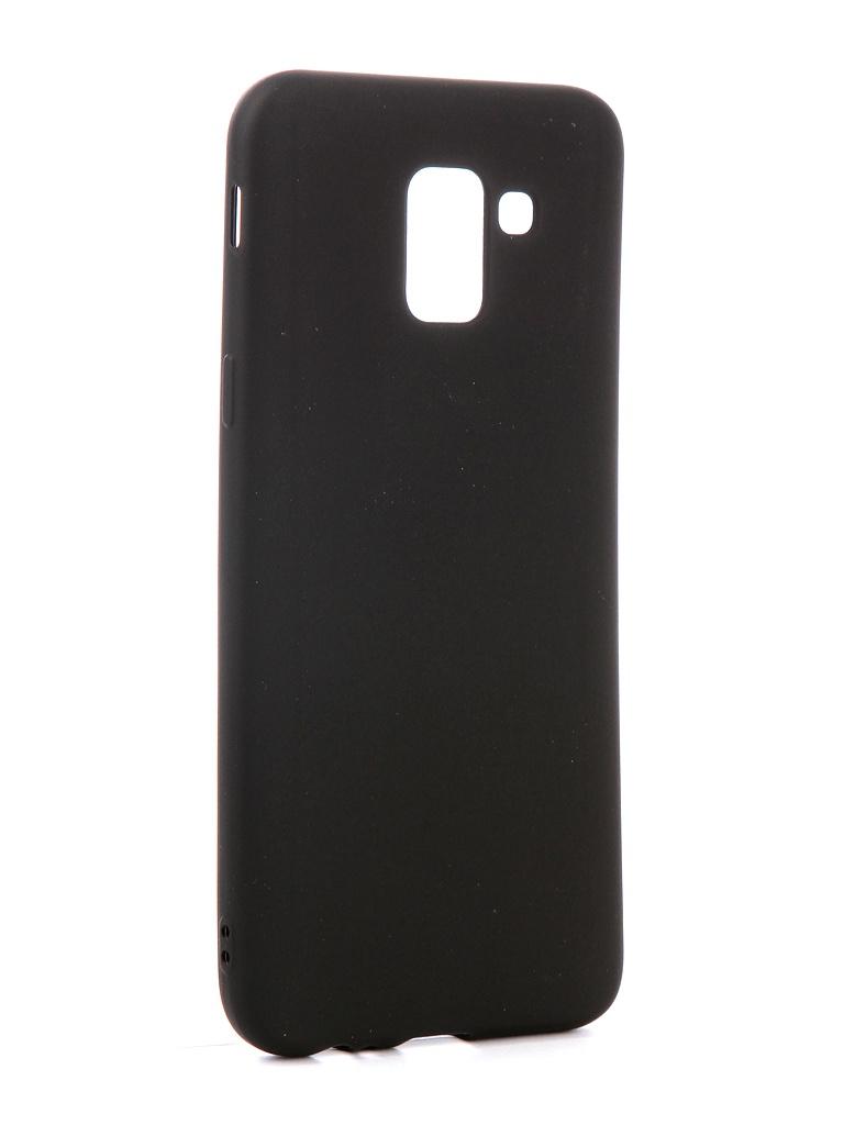 Аксессуар Чехол Red Line для Samsung Galaxy J6 2018 Ultimate Black УТ000015512 red line extreme чехол для samsung galaxy s7 black