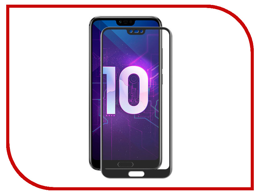 Аксессуар Защитное стекло для Huawei Honor 10 Red Line Full Screen Tempered Glass Black УТ000015876 аксессуар защитное стекло для huawei honor play 6 3 red line full screen 3d tempered glass black ут000016341