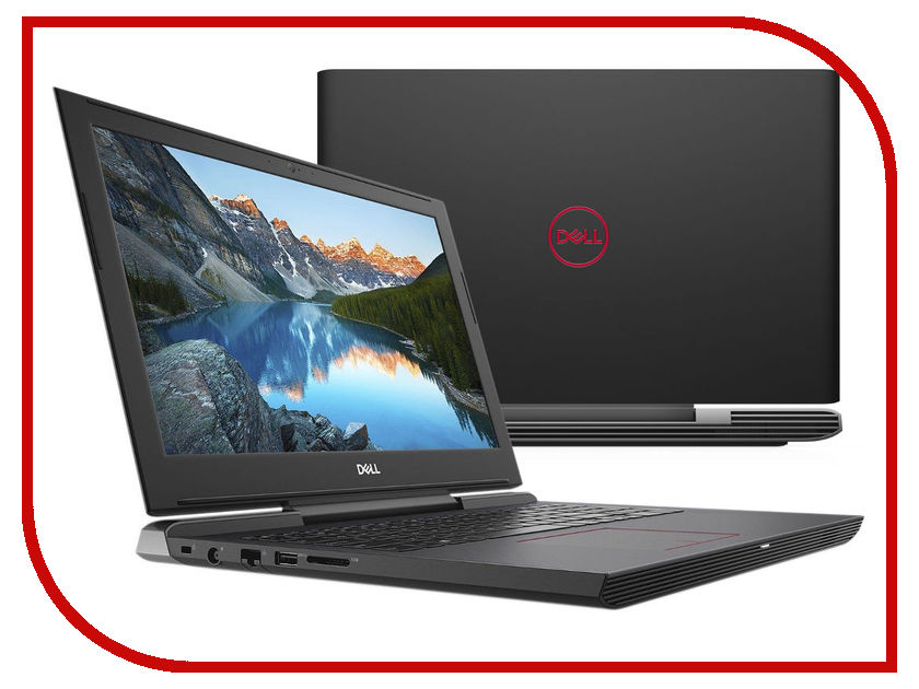 Ноутбук Dell G5 5587 G515-7510 Black (Intel Core i7-8750H 2.2 GHz/16384Mb/1000Gb + 256Gb SSD/nVidia GeForce GTX 1060 6144Mb/Wi-Fi/Cam/15.6/1920x1080/Windows 10 64-bit) p1 gyro flight controller stabilizer system gyro for fixed wing flying airplanes fpv drone f06670