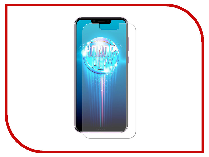 Аксессуар Защитное стекло для Huawei Honor Play Red Line Tempered Glass УТ000016477 for huawei honor play 7x 0 26mm 9h surface hardness 2 5d explosion proof tempered glass screen film