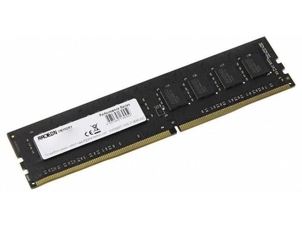 Модуль памяти AMD R7 Performance DDR4 DIMM 2666MHz PC4-21300 CL16 - 4Gb R744G2606U1S-UO