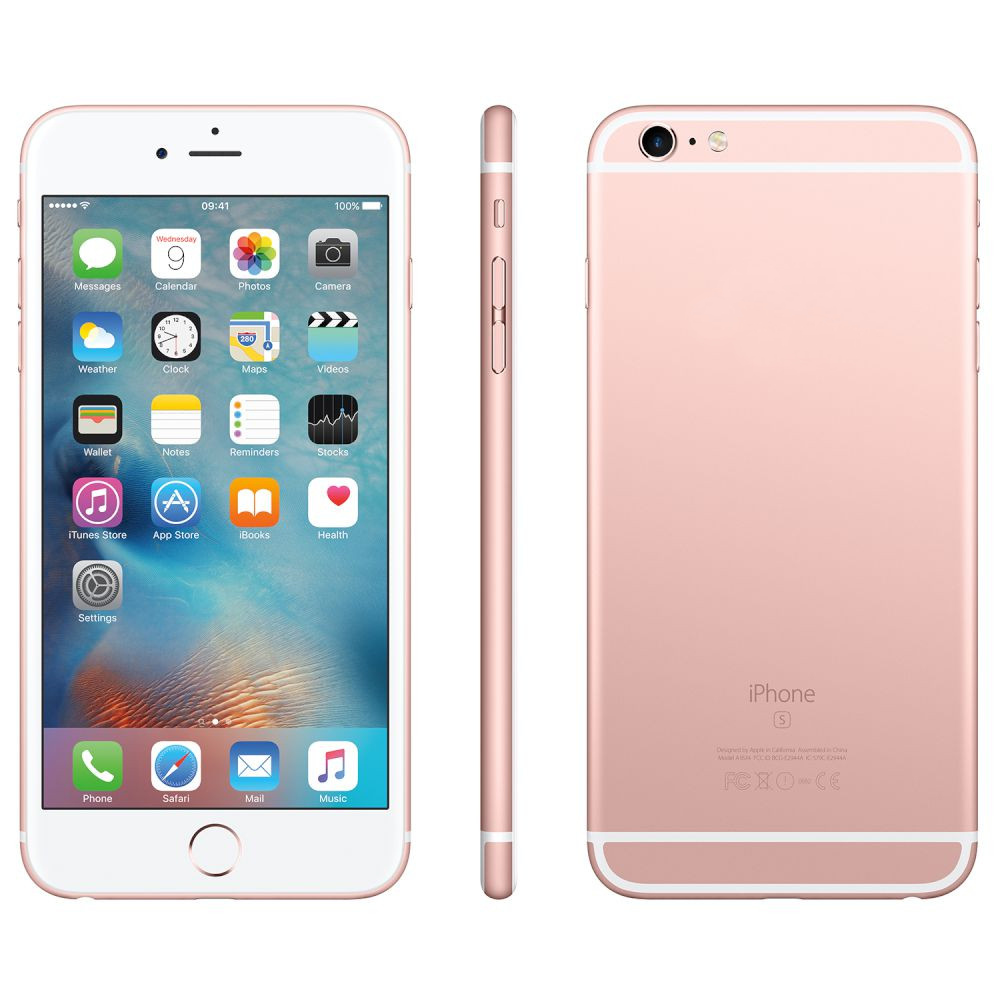Сотовый телефон APPLE iPhone 6S Plus - 128Gb Rose Gold FKUG2RU/A восстановленный