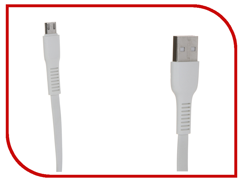 Аксессуар Baseus Tough Series USB - MicroUSB 1m White 906028 аксессуар baseus tough series usb usb type c 1m white 906026