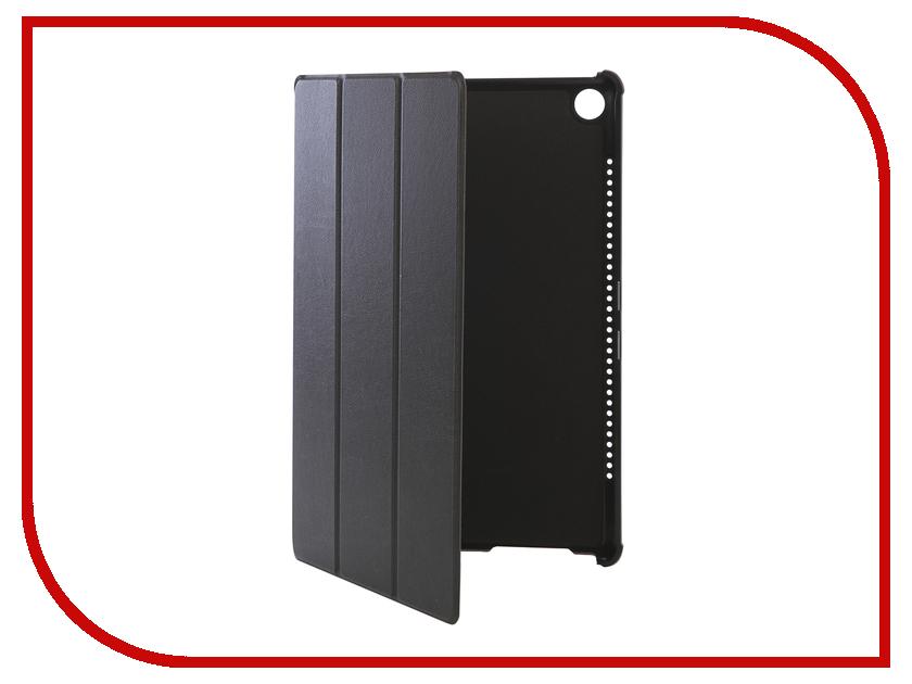 Аксессуар Чехол для Huawei MediaPad M5 10.8 Partson Black T-100 аксессуар чехол partson для apple ipad 2018 9 7 black t 096