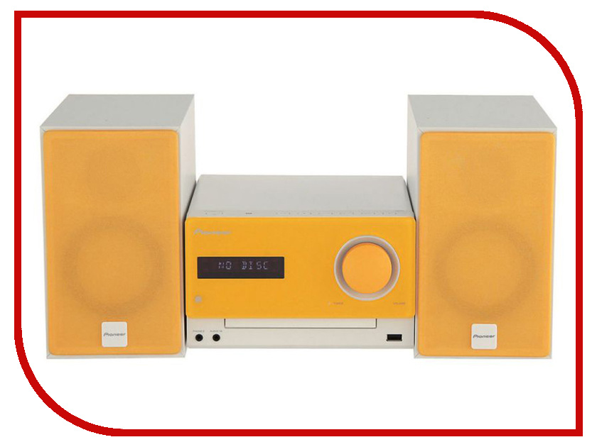 цена на Минисистема Pioneer X-CM35-D Orange