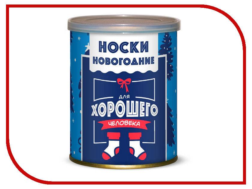 Носки новогодние для хорошего человека Canned Socks Black 416734 носки удачливого рыбака canned socks black 415195
