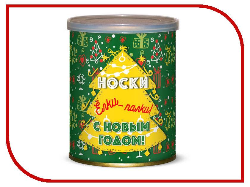 Носки Елки-палки С Новым годом! Canned Socks Black 416758 носочки для самой прекрасной canned socks 416154