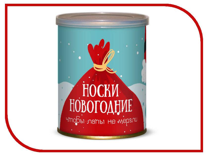 Носки новогодние чтобы лапы не мёрзли Canned Socks Black 416772 носки удачливого рыбака canned socks black 415195
