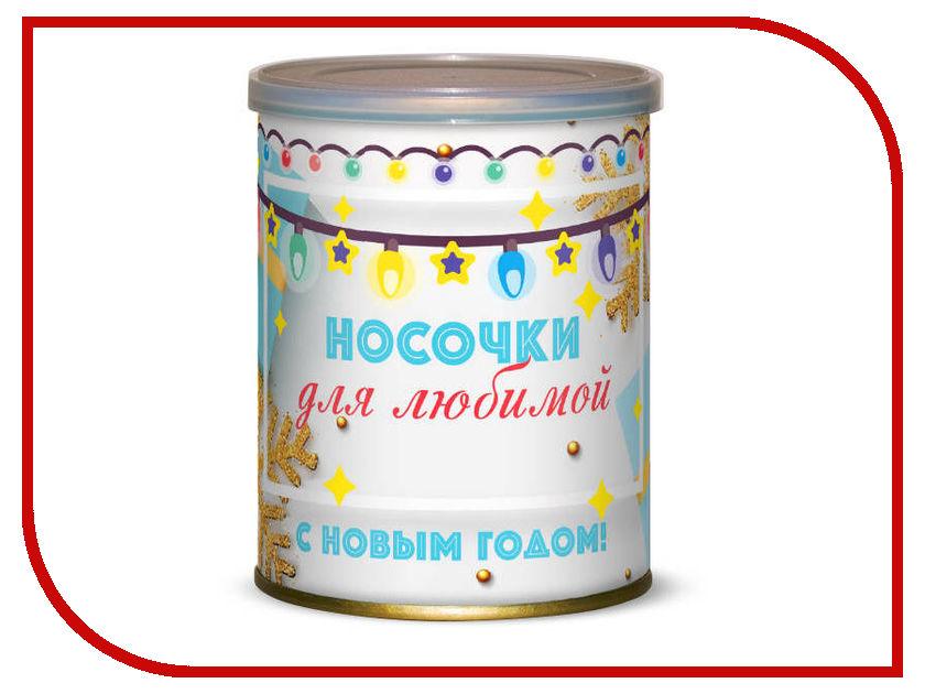 Носочки для любимой С Новым годом! Canned Socks В ассортименте 416789 носочки любимой сестре canned socks white 416161