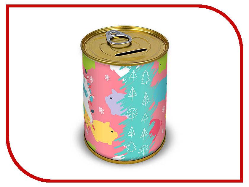 Копилка для денег Canned Money Коплю на мечту С новым годом! 410206 копилка для денег canned money коплю на отпуск 415614