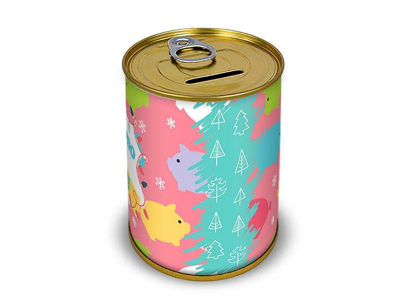 Копилка для денег Canned Money Коплю на мечту С новым годом! 410206