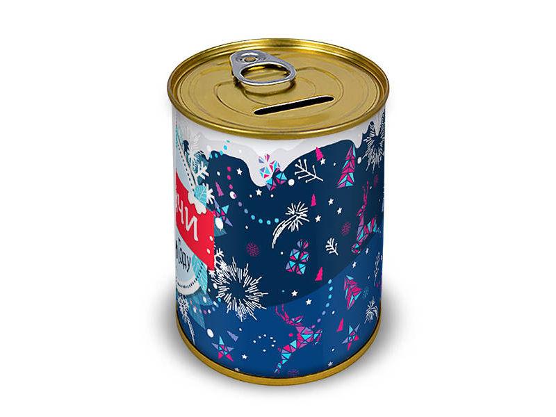 Копилка для денег Canned Money Удачи в новом году! 410183 canned heat canned heat the very best of canned heat