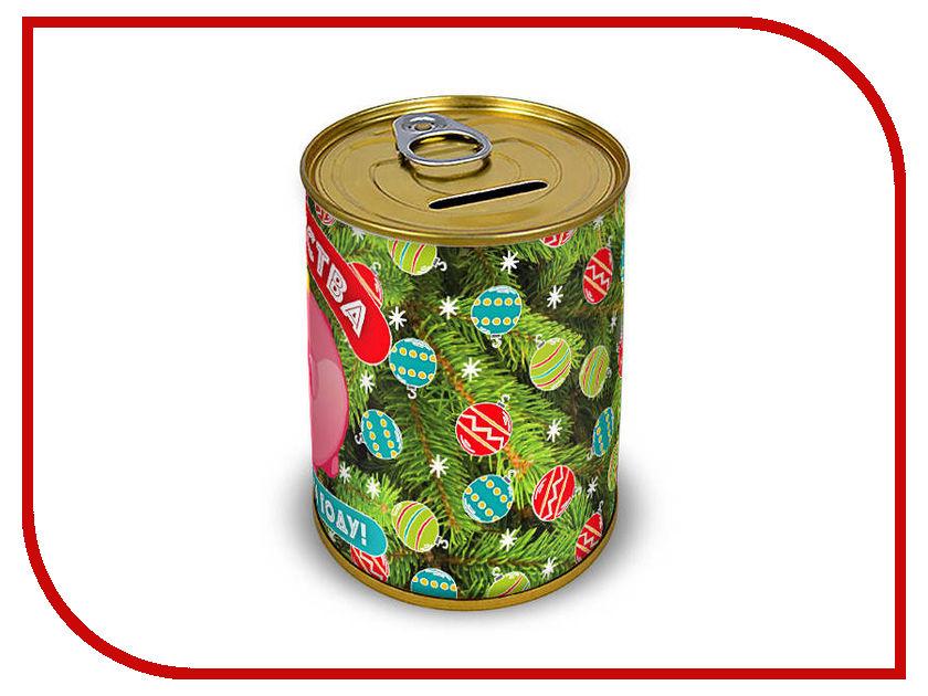 Копилка для денег Canned Money Богатства в новом году 410107 копилка для денег canned money коплю на отпуск 415614
