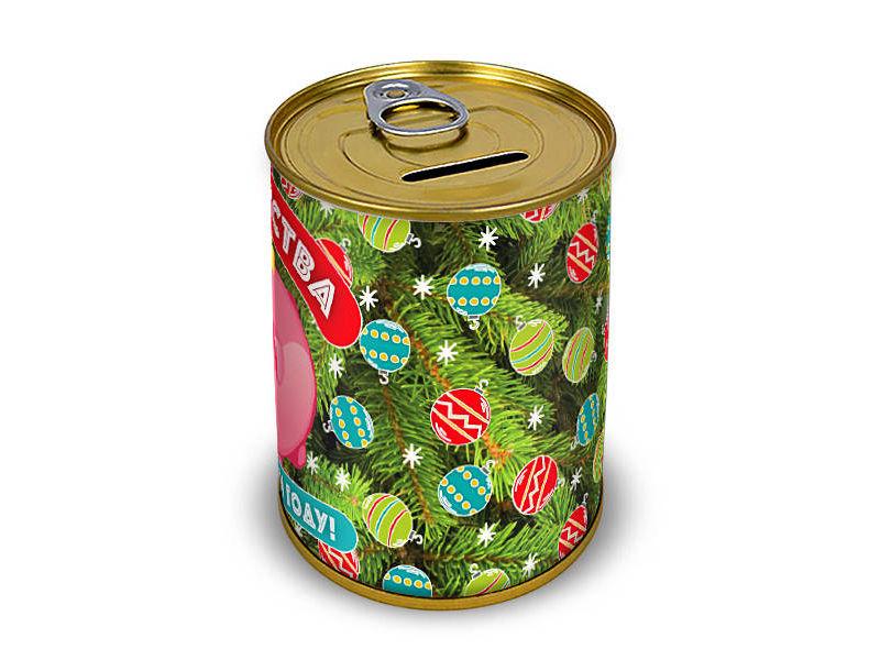 Копилка для денег Canned Money Богатства в новом году 410107